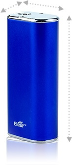 IStick height - 75 mm, width - 33 mm, depth - 21 mm