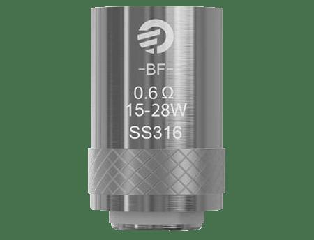 0.6 ohm evaporators eGo AIO D16