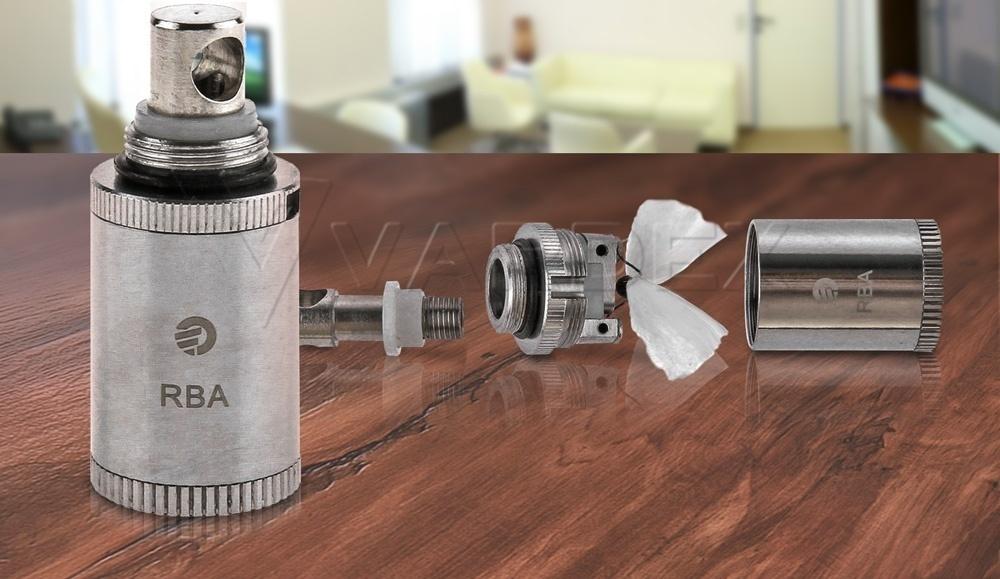 Для любителей рукоделия компания Joyetech подготовила еще один приятный сюрприз: обслуживаемый испаритель RBA для Delta 2