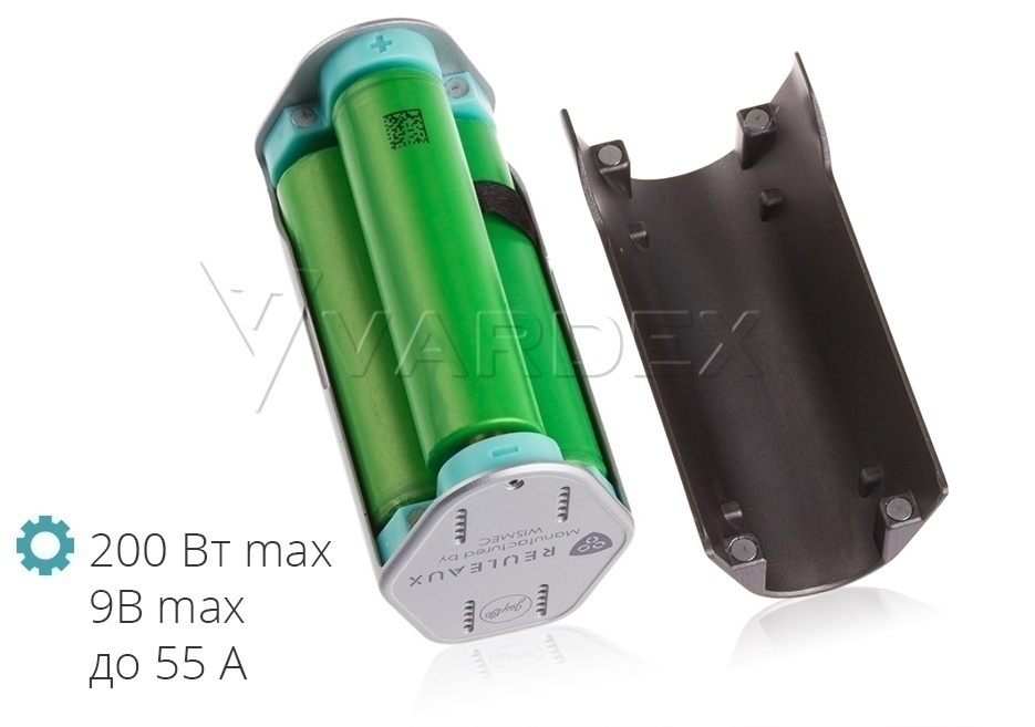 The Reuleaux battery cover is easy to remove, just pry it off the notches on the case