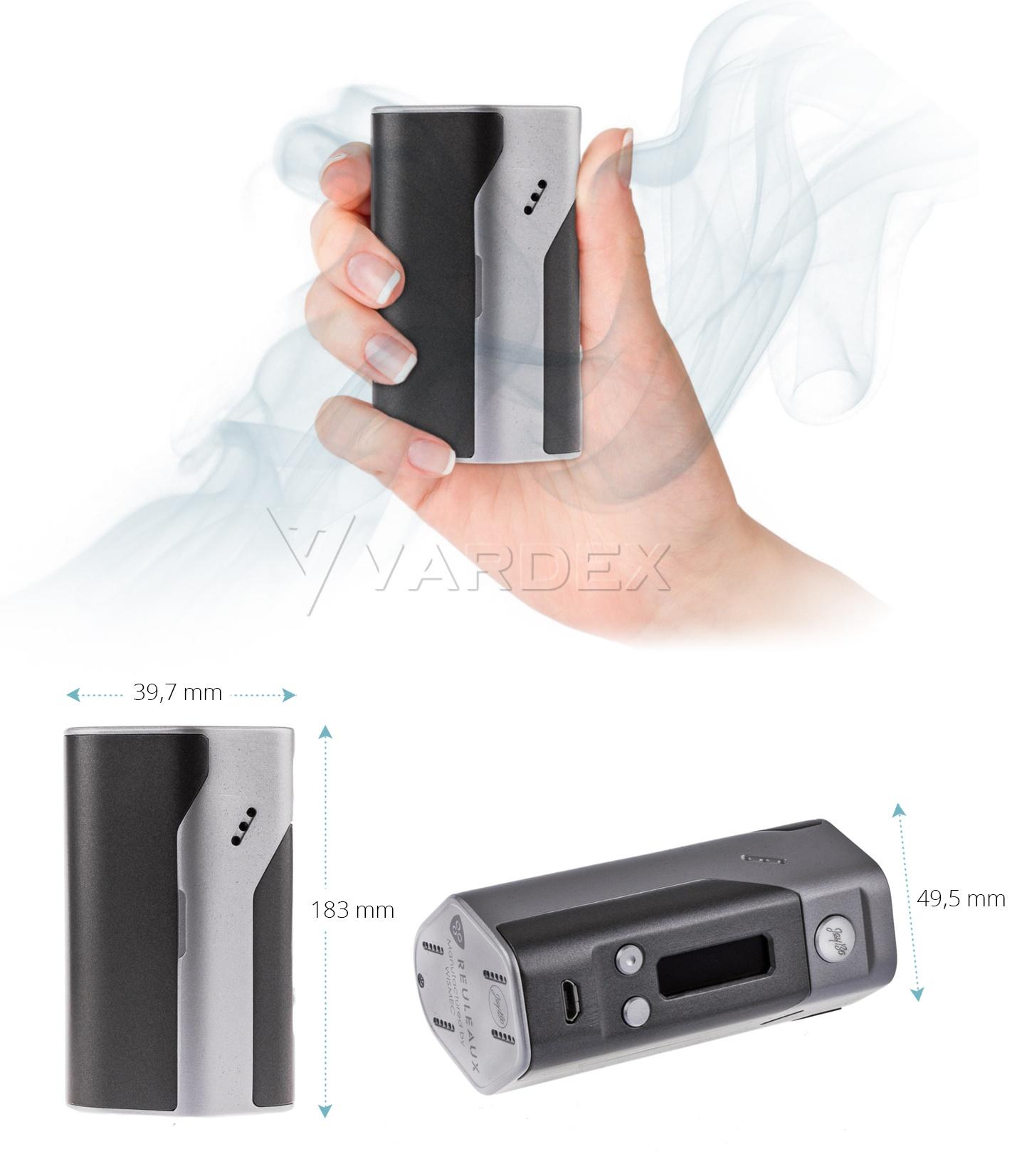 Reulaux - устройство довольно компактно и неплохо ложится в руку