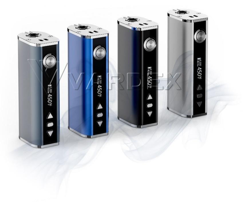iStick TC40W реализован в четырех цветовых решениях