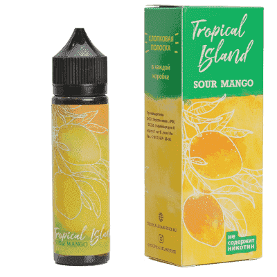 Жидкость Tropical Island Sour Mango (60мл) - фото 3