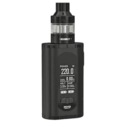 Набор Eleaf Invoke в комплекте с Ello-T (220W) - Черный
