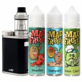 Набор Eleaf iStick Pico Kit 21700 with Жидкость Mad Fruits 3 вкуса