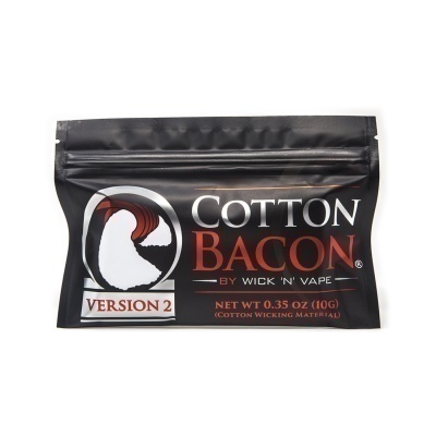 Хлопковая вата Cotton Bacon V2 by Wick