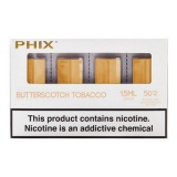 Картриджи PHIX Butterscotch Tobacco (50 мг) 4 шт.