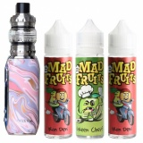 Набор Eleaf iStick Rim Kit 80W with жидкость Mad Fruits 3 вкуса