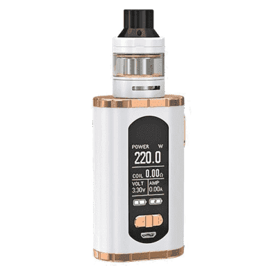 Набор Eleaf Invoke в комплекте с Ello-T (220W) - Белый