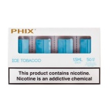 Картриджи PHIX Ice Tobacco (50 мг) 4 шт.