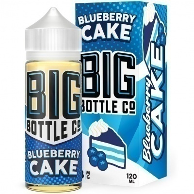 Жидкость Big Bottle Blueberry Cake (120мл) - фото 2