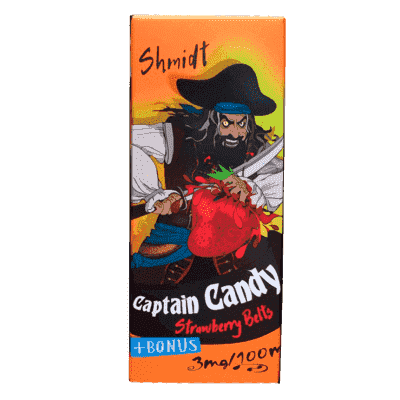 Жидкость Captain Candy Shmidt Strawberry Belts (100 мл)